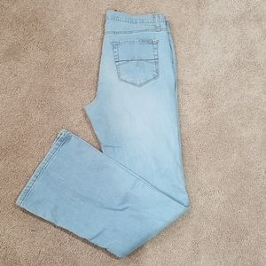 Stretchy flare jeans